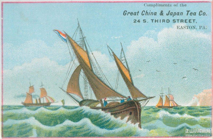 远销欧洲的中国茶